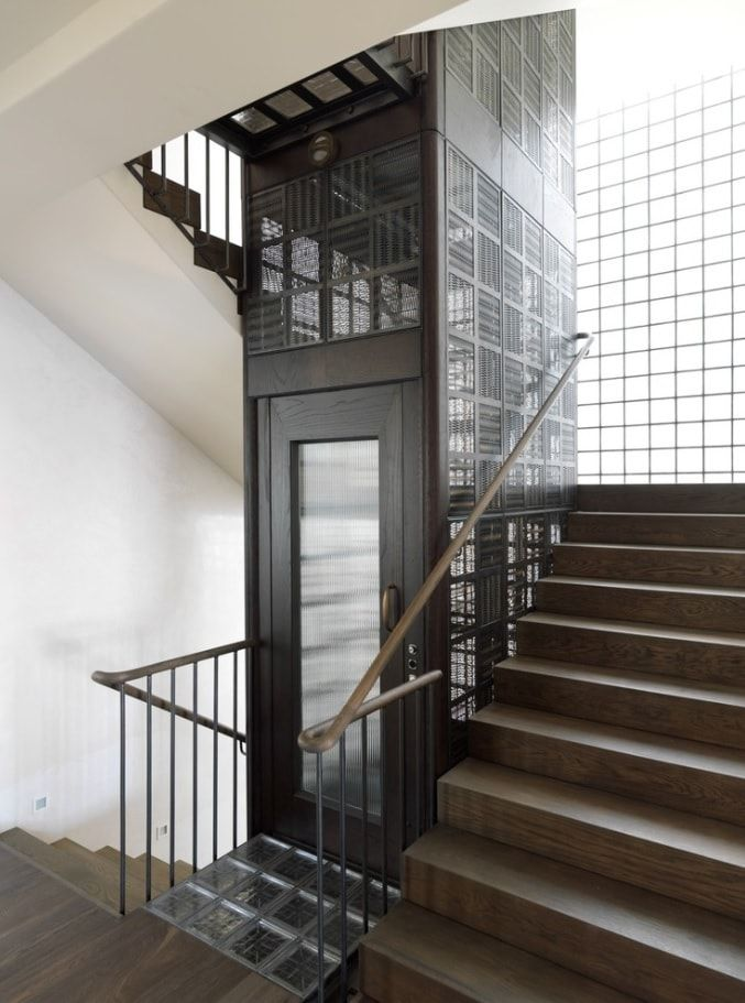 Contemporary Stairway by Decus Interiors