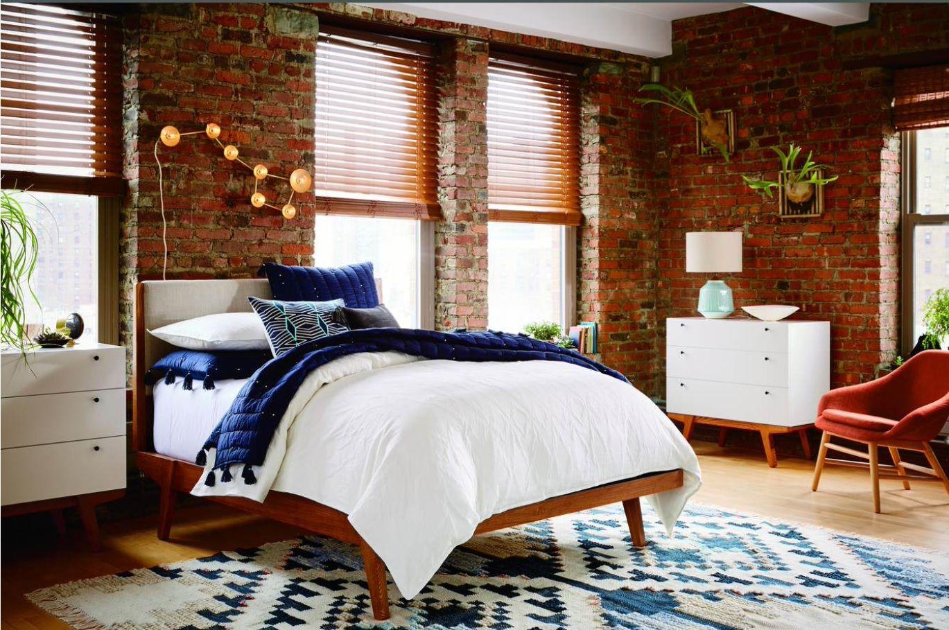 Loft Bedroom by West Elm UK