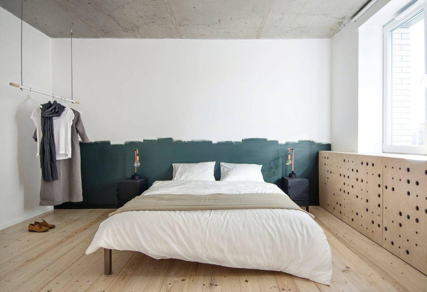 120 Square Feet Bedroom Interior Decoration Ideas. Minimalistic bedroom setting