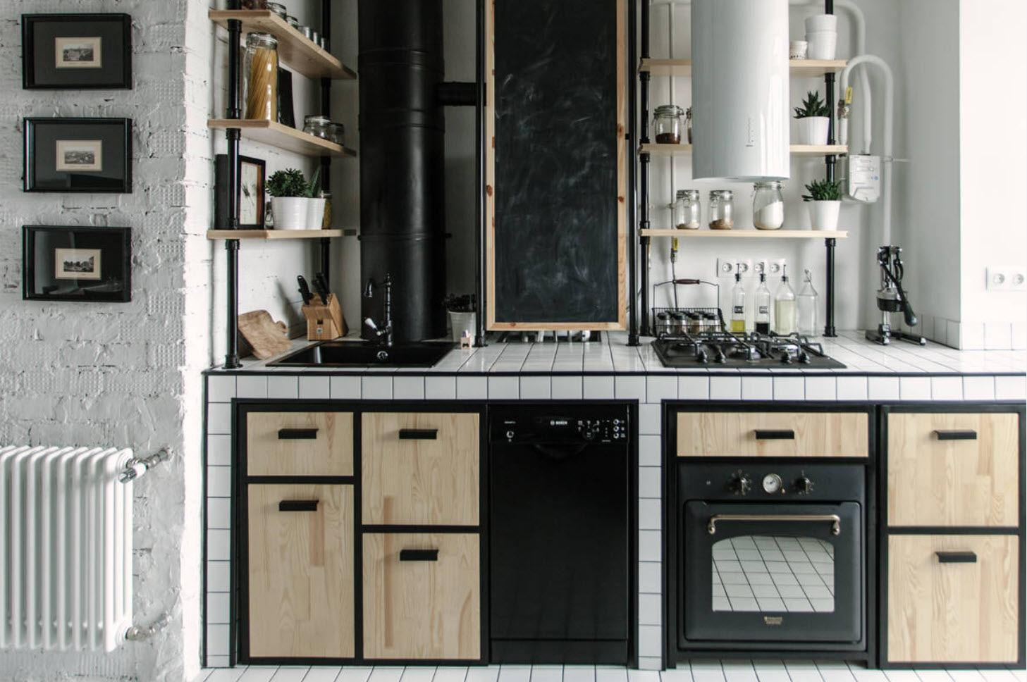 Another vintage kitchen example