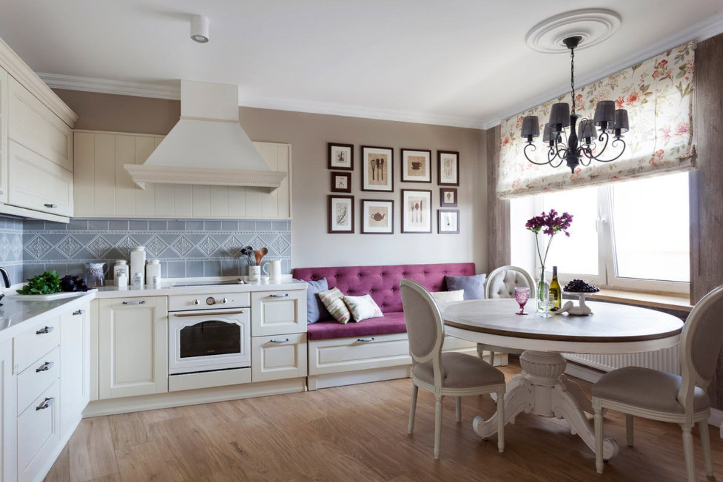 Classic kitchen design with touch of French Provence