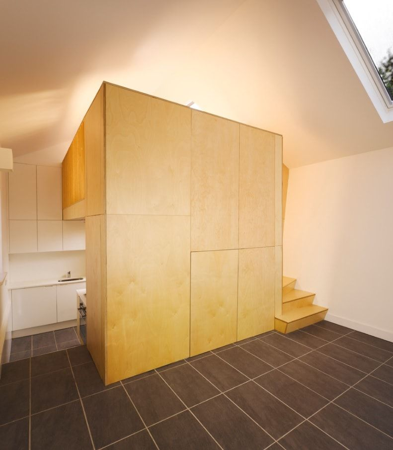 Full-fledged storage and solitary nook for kids