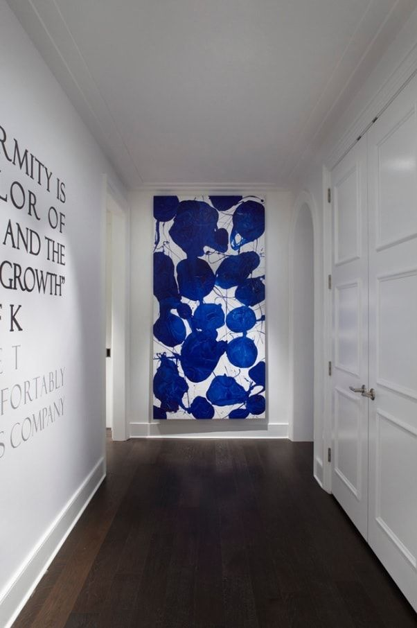 8 creative design tips on occupying the empty wall. Modern Corridor by Julia Wong Designs