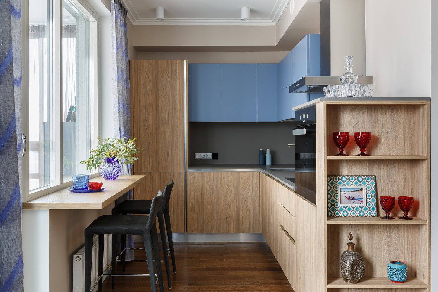 90 Square Feet Kitchen Interior Design Ideas & Examples. Furniture set in different colors