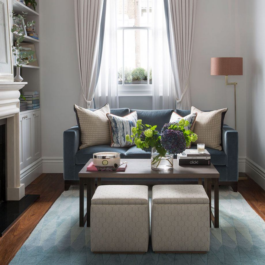130 Square Feet Living Room most Effective Design Ideas. Casual interior with gray sofa and plenty of natural light