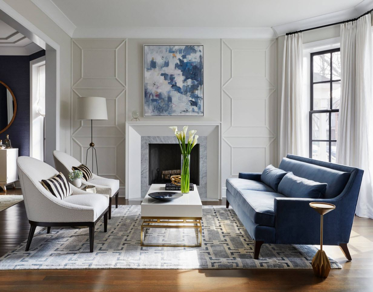 Classic interior design with eco touches