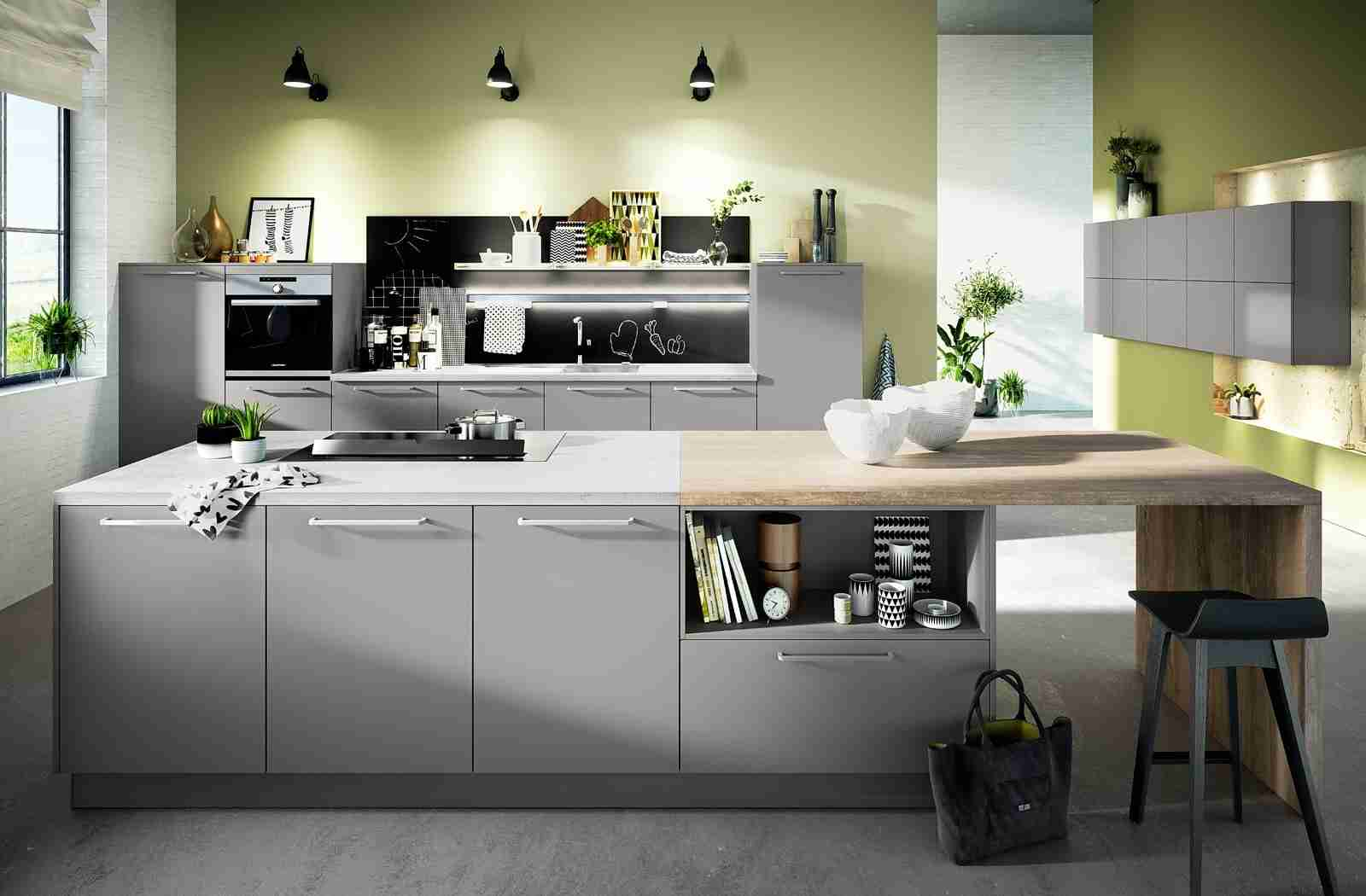 Solid Wood Kitchen Stylish Ideas for Modern Interiors. Light wooden countertop