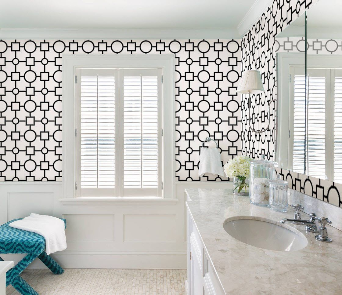 Black and White Wallpaper: Ageless Classics in any Interior. Vivid contrast to decorate walls