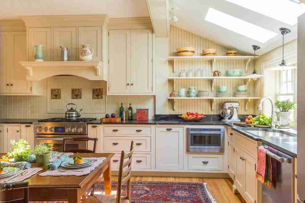 Solid Wood Kitchen Stylish Ideas for Modern Interiors. Loft designed space in light tones
