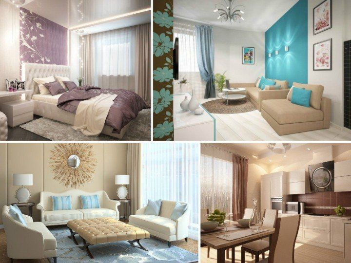 A couple of turquoise beige color combination in living rooms