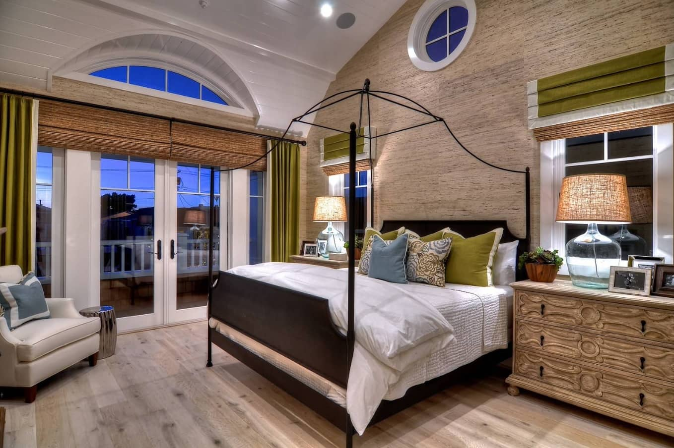 Tips for Keeping Your Hardwood Floors Clean. Bleached oak color floring in the bedroom