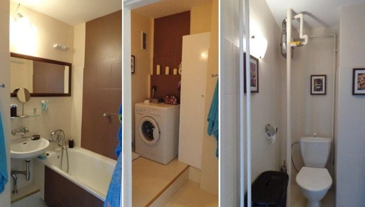 Interior Design Examples Before and After or why We Need a Designer. Stuffed casual styled bathroom before renovation