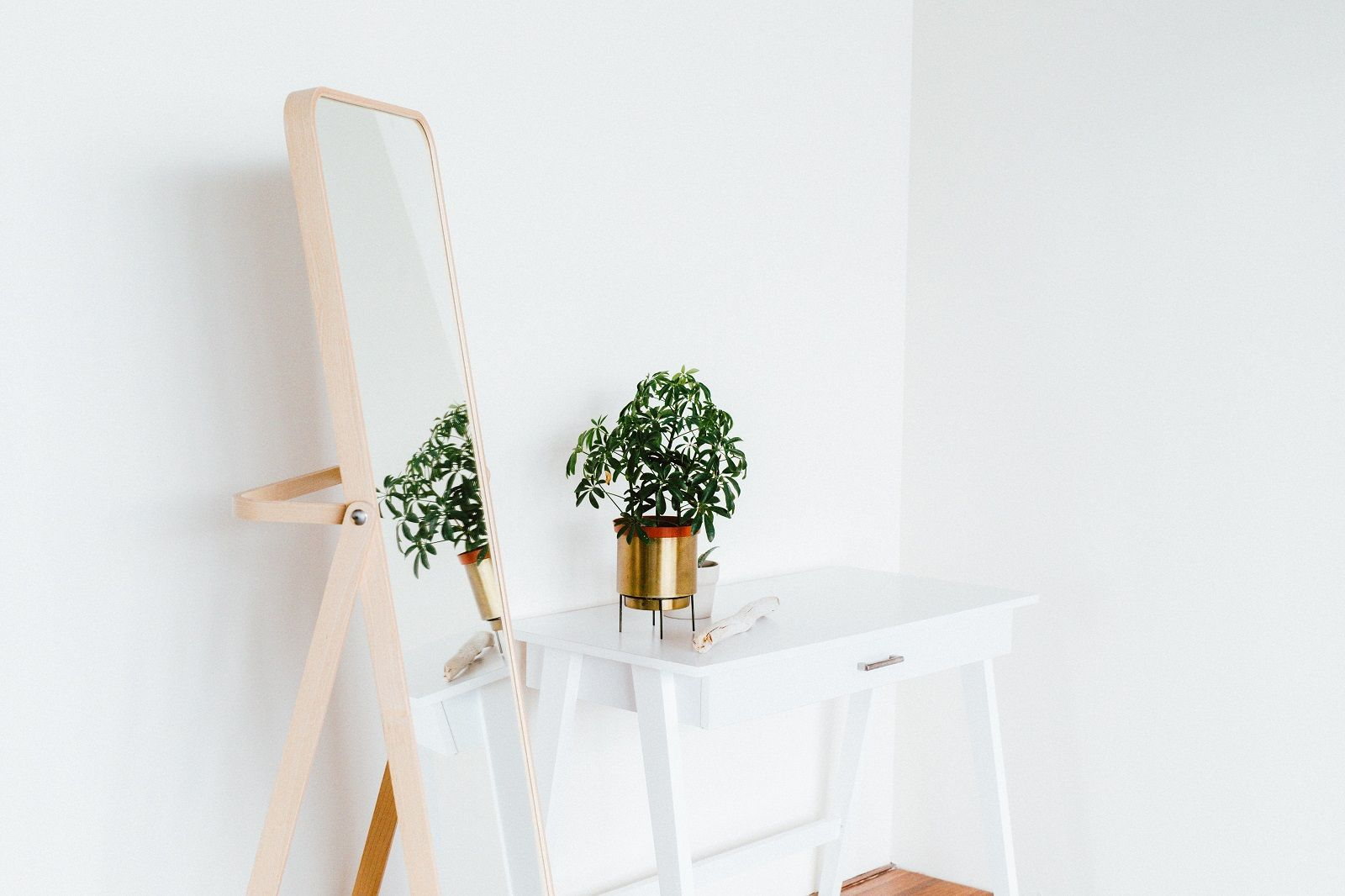 How Including Plants in the Bedroom Can Improve Sleep Quality. The plant can near the mirror