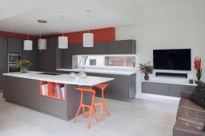 Things To Keep In Mind When Remodeling Your Kitchen. Dozed bright accents in modern kitchen