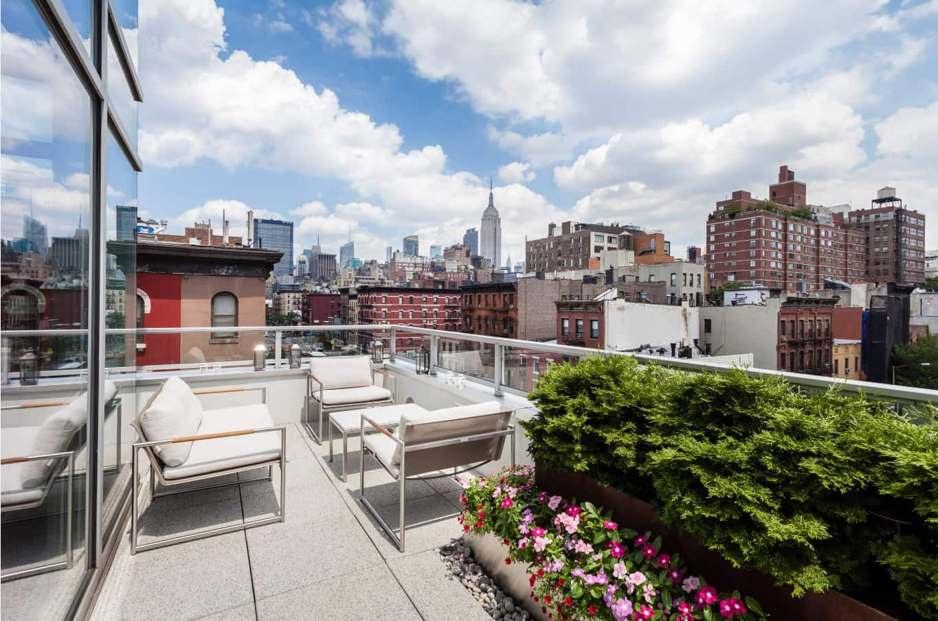 Top 10 Small Apartment Patio Ideas with Photos. Open air space at the penthouse