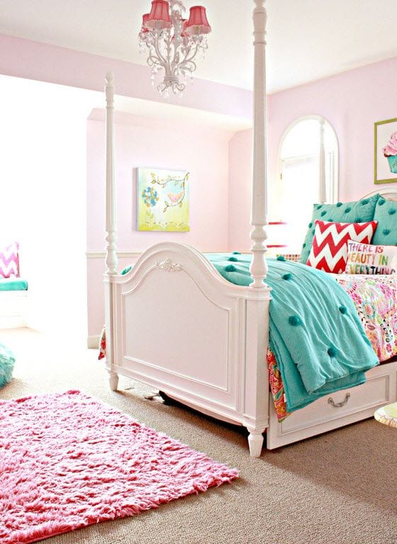 Canopy bed for children's room