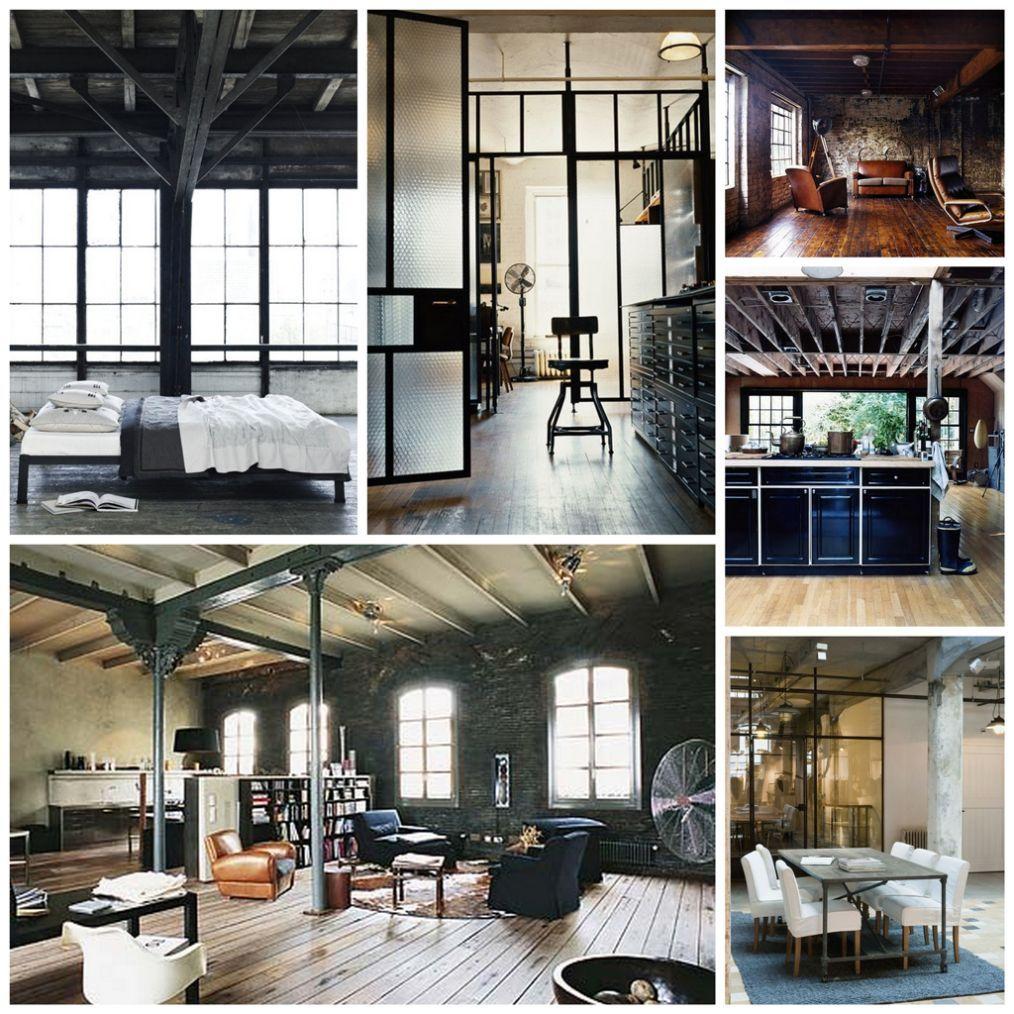 Industrial Interior Design Style Description And Photos