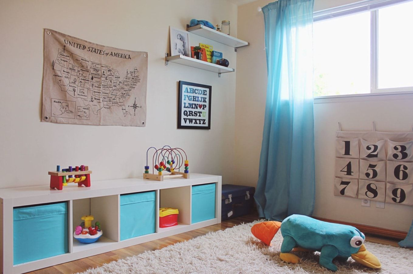 Decorating Ideas for Toddler Boys Bedrooms. Many developing options in the equipped room with fluffy carpeting