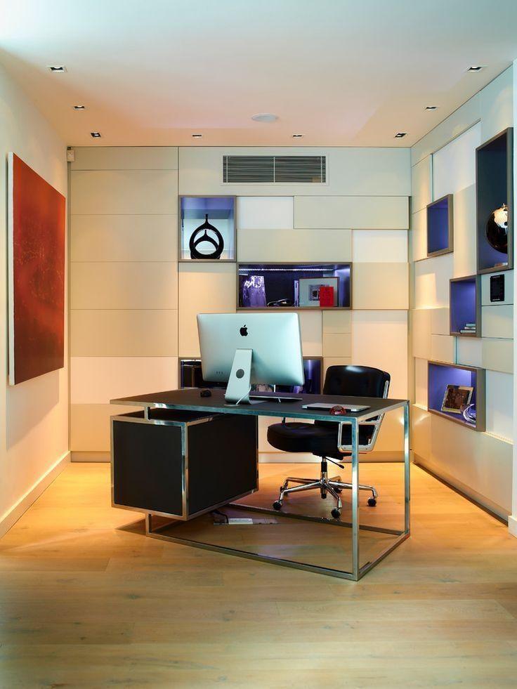 Workign desk with metal frame