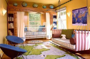 Zoning of the Children's Room Ideas