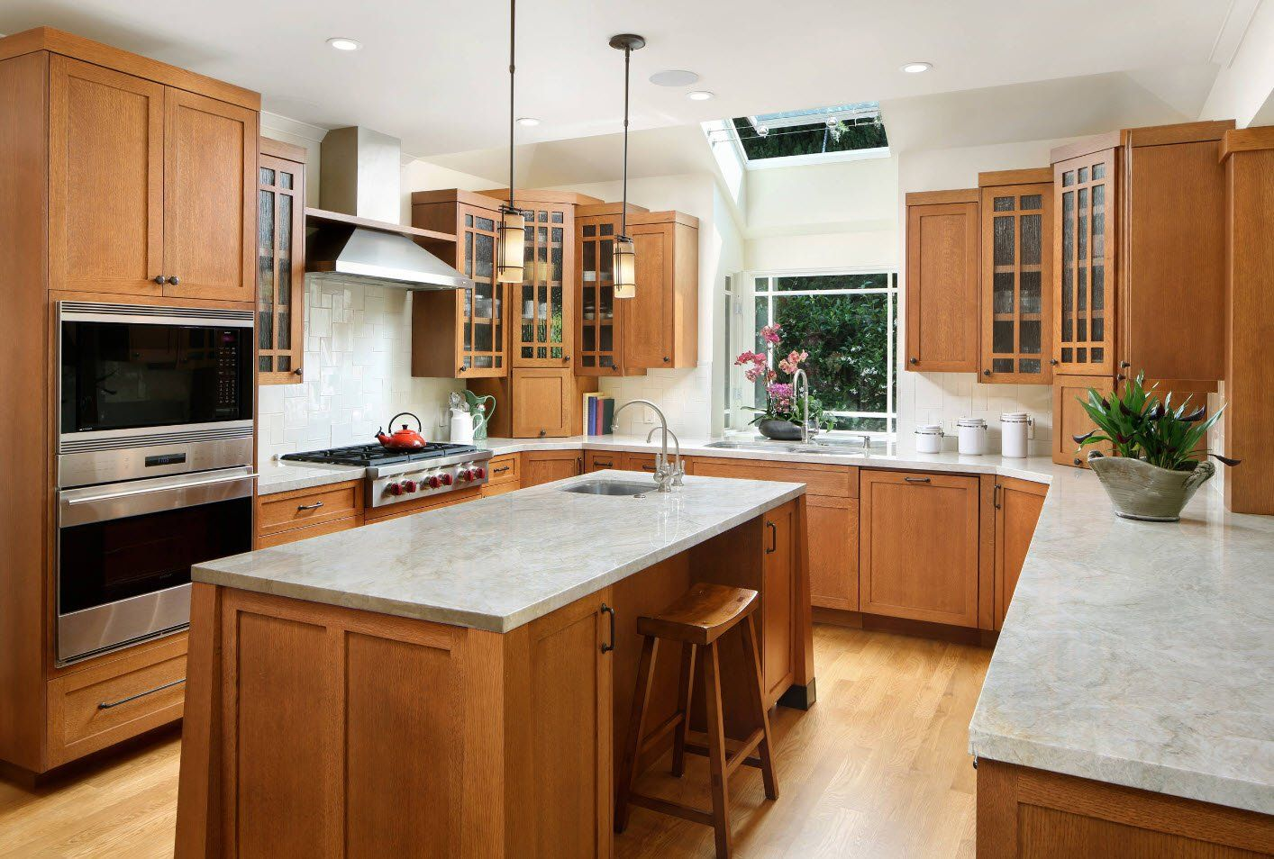 Wooden kitchen finishing and furniture