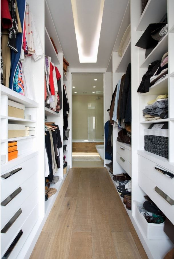 Attic Walk in Closet Ideas: Designing your Loft with Style and Functionality. Whole floor of cabinet and dressing room with a passage