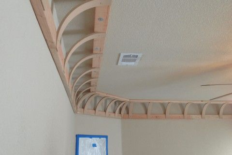 Vaulted Ceiling: Main Principles of Constructing and Finishing. The frame for future vault