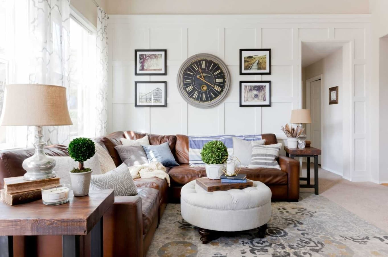 Renting Out Your Property? 5 Easy Design Ideas To Get It Rented Fast. Classic grey interior with panels and beige ceiling