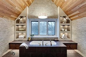 11 Useful Design Tips on Attic Bathroom Arrangement