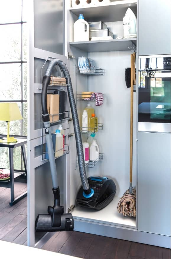 The KonMari Method for Making Your Home Clean and Tidy. The systematizing the detergents for easier cleaning