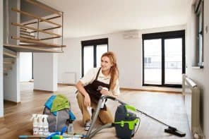 6 Tricks to Finding Motivation to Clean. Large modern apartmet cleaning