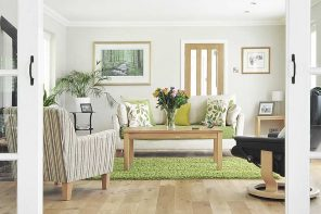 How to Improve Air Quality in Your Home (and Why You Should). The successfully and properly furnished light colored living room in casual style