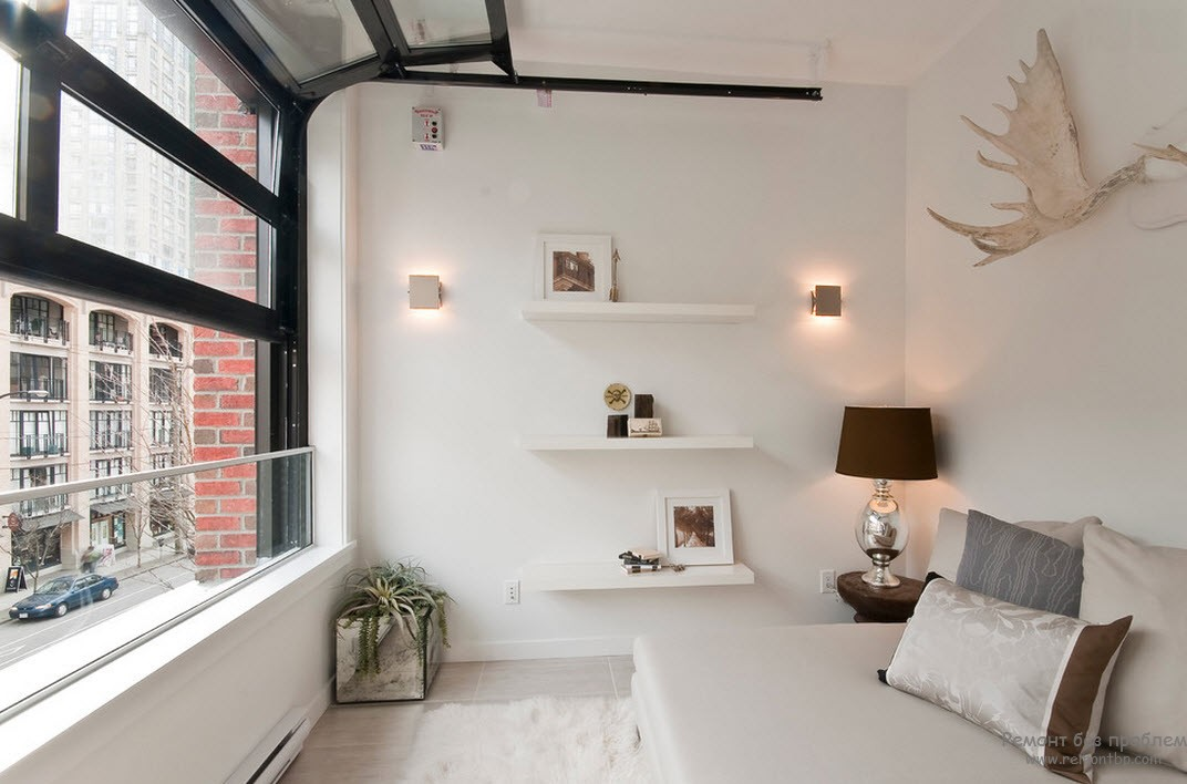 Window Design in the Bedroom for Ultimate Coziness and Comfort. Collapsible window frame in Scandinavian styled room