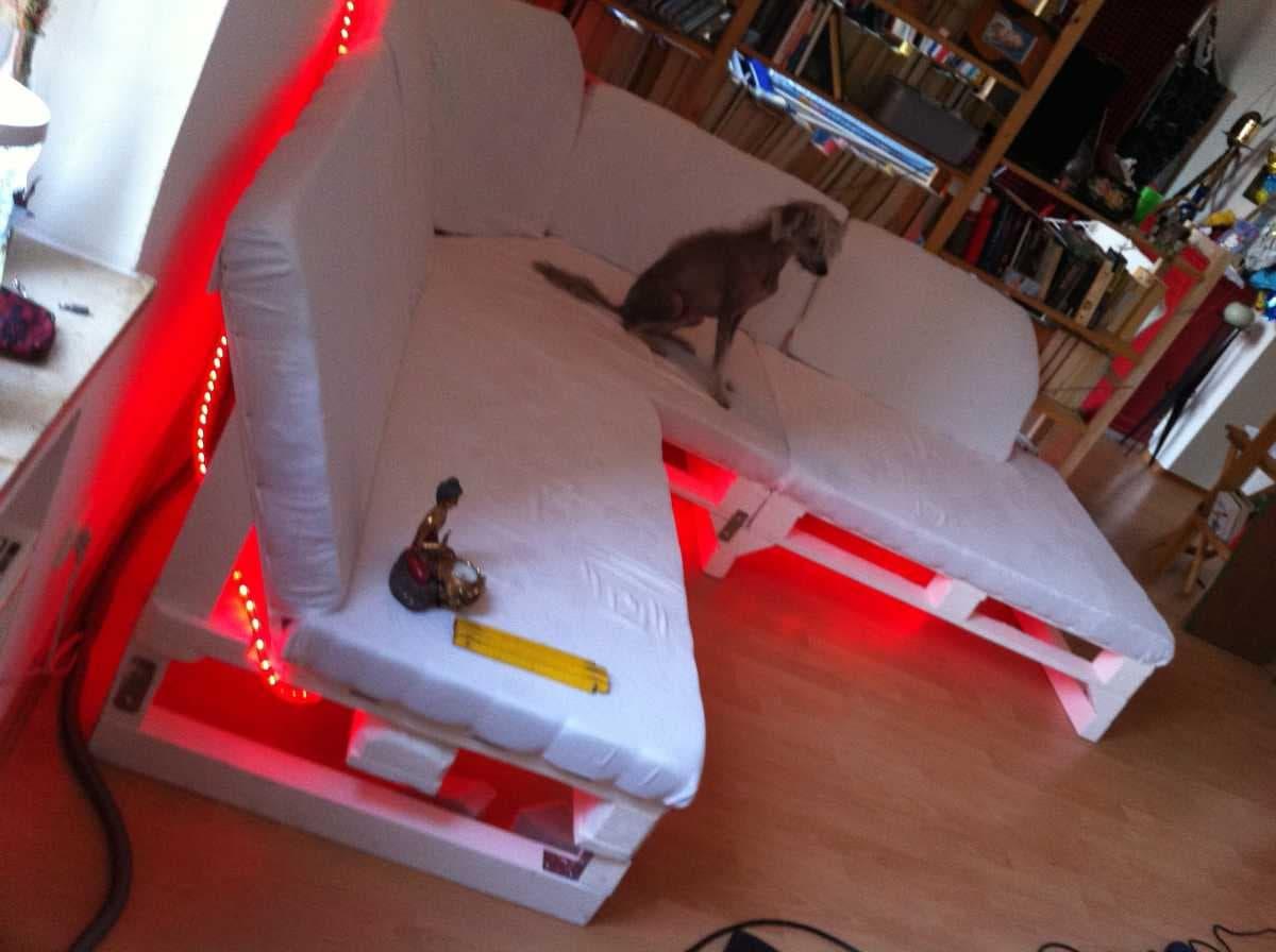 Corner sofa DIY