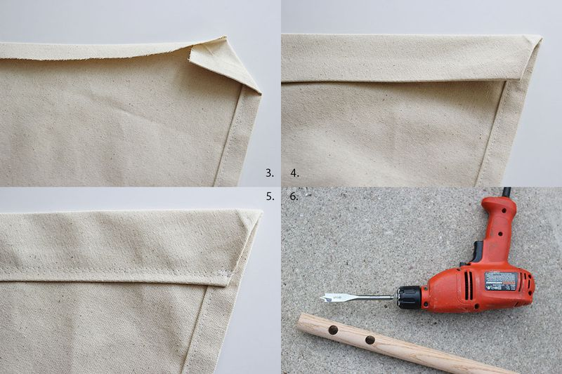 What to do with the cloth (instruction of making DIY hammock)