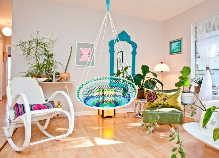 Kids' room in Eco style and Shabby chic
