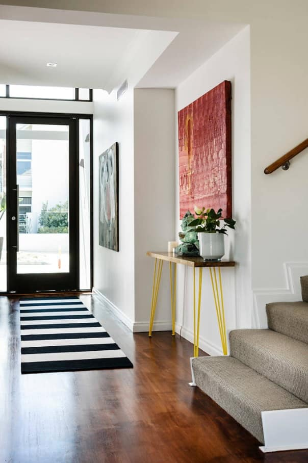 Top Tips for Making Sure Your Home Is Party-Ready. Decorating the entrance hall with unusual table