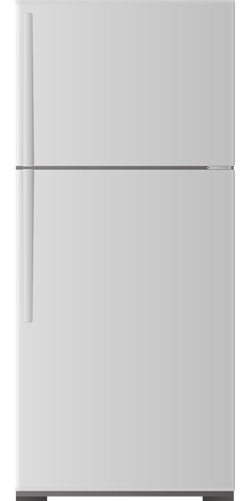 Considerations when Packing Appliances. Refrigerator