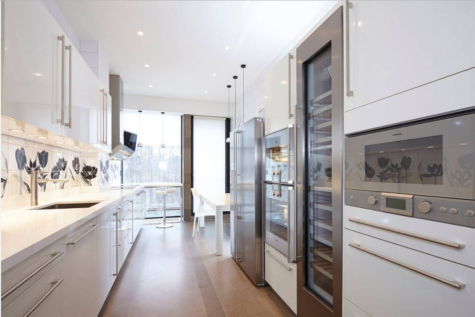 Fitted Kitchens: Impeccable Style and Functionality for any Space. Modern styled area with smooth solid facades