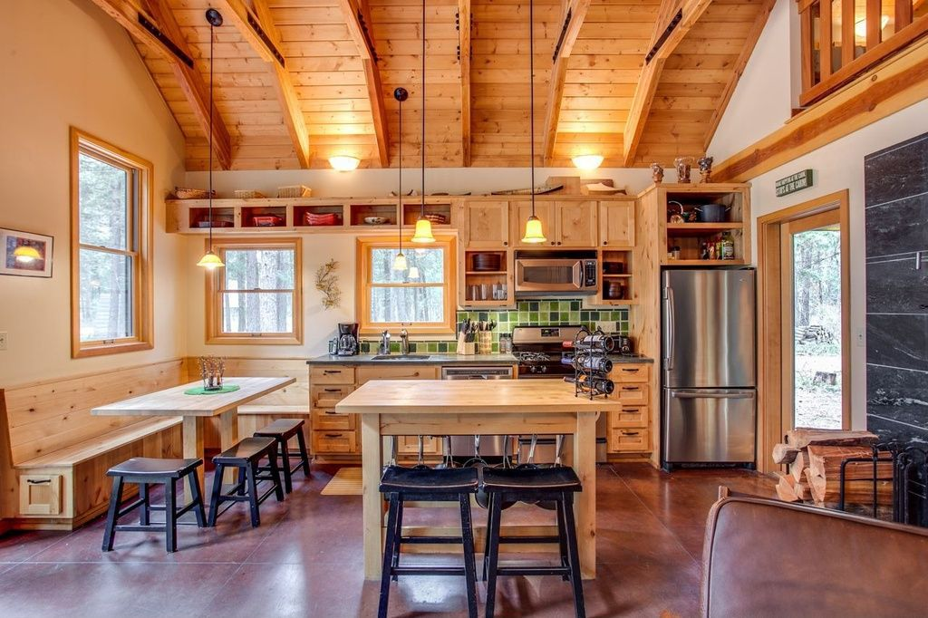 Fitted Kitchens: Impeccable Style and Functionality for any Space. Wooden trimming in the Classic country styled kitchen