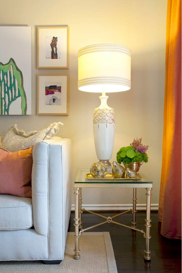 Modern Design Ideas You Can Make Yourself. DIY lamp decoration