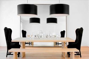 Black Dining Room Set for Different Interior Styles