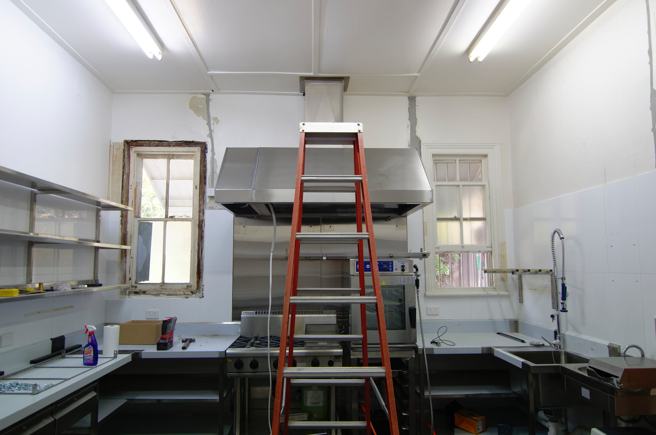 Kitchen Renovation: 5 Budgeting Tips for Your Next Remodel. Small kitchen under reconstruction