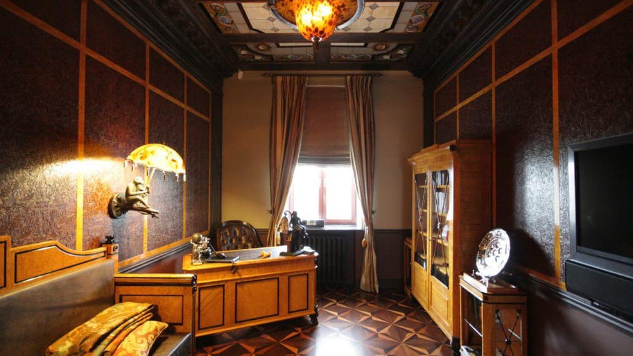 1920s Interior Design In Action Real Apartment In Deep Retro