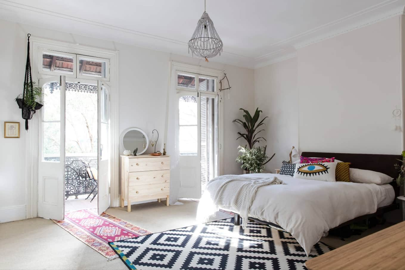 5 Bedroom Upgrades To Consider. Functional minimalistic room in Scandi style
