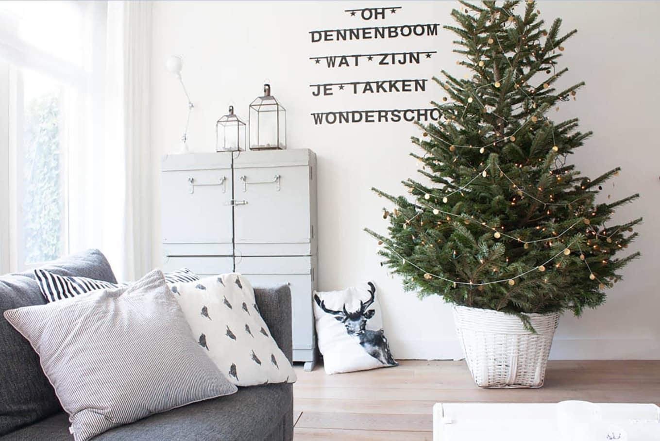 Nordic Interior Design Examples in Real Homes Photos. Real Finnish interior at the Christmas