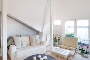 White Living Room: Different Style Interiors with Photos