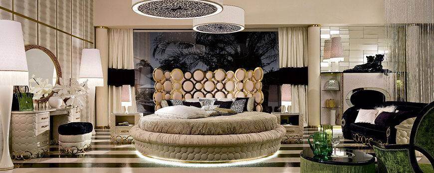 Reincarnation of Unrepeatable: 70s-80s Interior Design in Modern Interiors. Absolutely stunning bedroom design