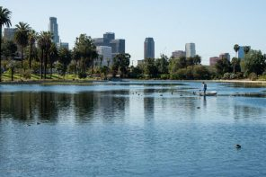 Best Los Angeles Picnic Spots. Echo Park Lake