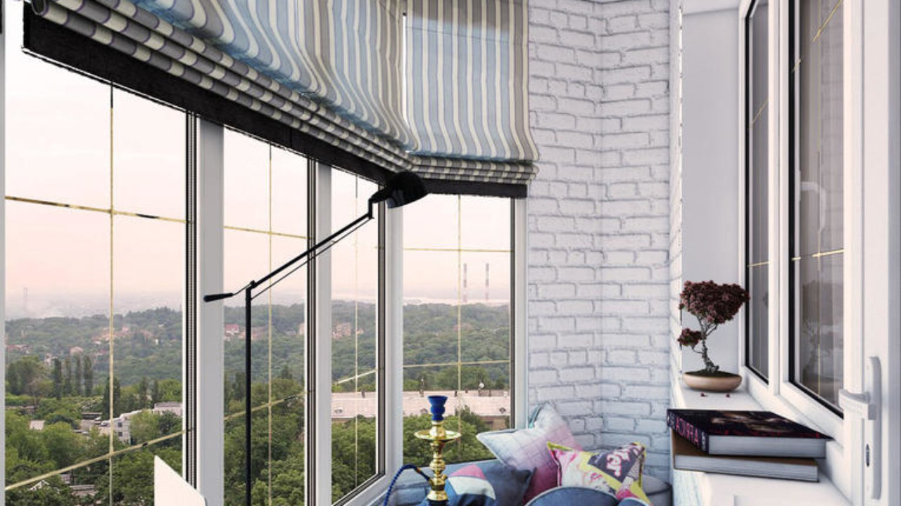 Balcony Curtains: Actual and Fashionable Decoration Ideas